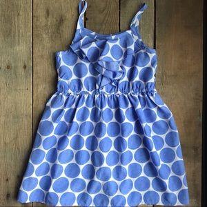 Spring polka dot sundress - EUC- Size 4T